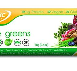 Organic Food Bar – Active Greens, 2.4 Ounce (Pack of 12)