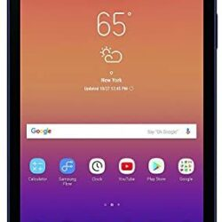 (Renewed) Samsung Galaxy Tab A 8.0in 16GB, Wi-Fi Tablet – Black