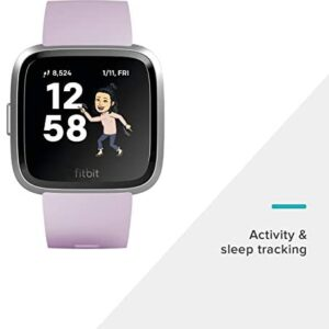 Fitbit Versa Lite Edition Smart Watch, 1 Count (S & L bands Included)