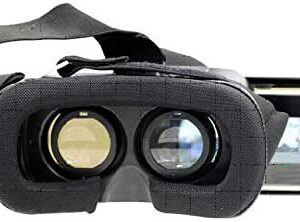 Craig CC338 3D Virtual Reality Headset | Compatible with 4 inch – 5.5 inch Smartphone Screens | Great for Kids and Adults | Adjustable Focal and Pupil Settings |