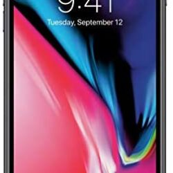 Apple iPhone 8 Plus, 64GB, Space Gray – For AT&T / T-Mobile (Renewed)