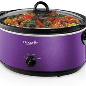 Crockpot SCV700-KP Deisgn to Shine 7QT Slow Cooker, Purple