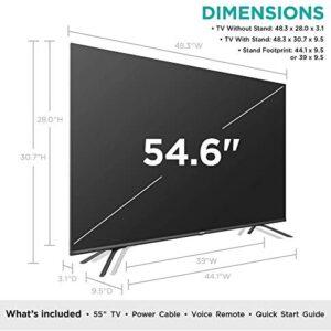 Hisense 55H8G Quantum Series 55-Inch Android 4K ULED Smart TV (2020)