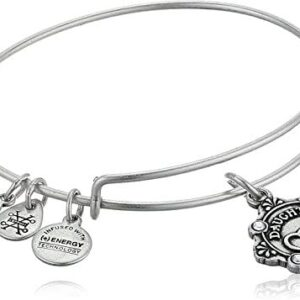 Alex and Ani Because I Love You Daughter III Bangle