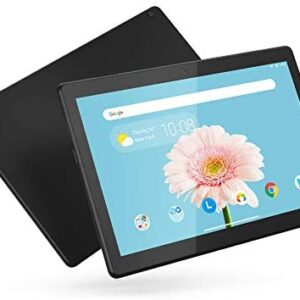 Lenovo Tab M10 HD 10.1″ Tablet, Android 9.0, 32GB Storage, Quad-Core Processor, WiFi, Bluetooth, ZA4G0078US, Slate Black