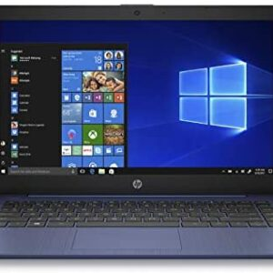 (Renewed) HP Stream 14 inches HD(1366×768) Display, Intel Celeron N4000 Dual-Core Processor, 4GB RAM, 32GB eMMC, HDMI, WiFi, Webcam, Bluetooth, Win10 S, Royal Blue, 14-cb161wm