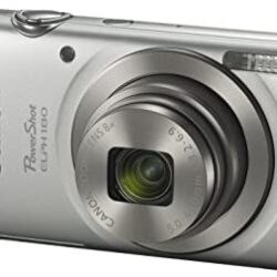 Canon PowerShot ELPH 180 Digital Camera w/ Image Stabilization and Smart AUTO Mode (Silver), 0.90in. x 3.70in. x 2.10in. – 1093C001
