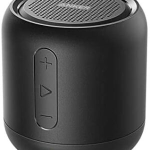 Anker Soundcore Mini, Super-Portable Bluetooth Speaker with 15-Hour Playtime, 66-Foot Bluetooth Range, Enhanced Bass, Noise-Cancelling Microphone – Black