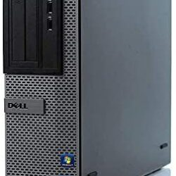 Dell Optiplex 3010 DT High Performance Business Desktop Computer, Intel Quad Core i5-3470 up to 3.6GHz, 8GB Memory, 2TB HDD, DVD, VGA, Windows 10 Professional 64 Bit (Renewed)