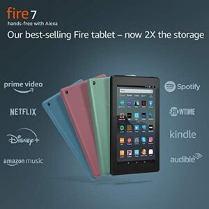 Fire 7 Tablet, 7″ display, 16 GB