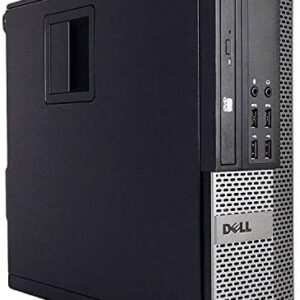 (Renewed) Dell Optiplex 7010 Business Desktop Computer (Intel Quad Core i5-3470 3.2GHz, 16GB RAM, New 480GB SSD HDD, USB 3.0, DVDRW, WiFi, Windows 10)