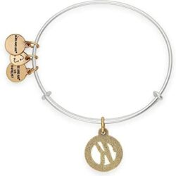 Alex and Ani Women's Initial K Charm Bangle