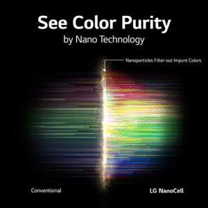 LG 65NANO85UNA Alexa Built-In Nano 8 Series 65″ 4K Ultra HD Smart LED Nanocell TV (2020)