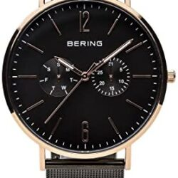 BERING Time | Men's Slim Watch 14240-166 | 40MM Case | Classic Collection | Stainless Steel Strap | Scratch-Resistant Sapphire Crystal | Minimalistic – Designed in Denmark