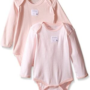 Burt's Bees Baby – Unisex Baby Bodysuits, 2-Pack Organic Cotton Short & Long Sleeve One-Pieces