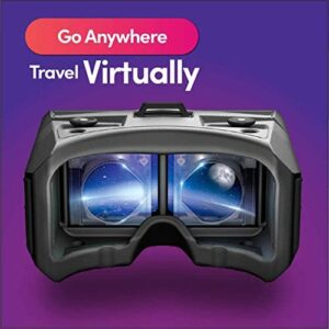 MERGE VR Headset – Augmented Reality and Virtual Reality Headset, Play Educational Games and Watch 360 Degree Videos, STEM Toy for Classroom and Home, Works with iPhone and Android (Moon Grey)
