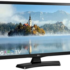 (Renewed) LG 24in Class 720p 60Hz LED HDTV – 24LF454B