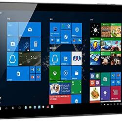 【Windows 10/Office 2010】 Jumper EZpad 7 Window Tablet,10.1 inch Touchscreen Laptop 2 in 1 Tablet, 4G+64GB/128GB,Official Windows 10 OS, Quad Core with Detachable Keyboard (Plus Keyboard) (4G+128G)