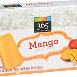 365 Everyday Value, Mango Fruit Bars, 4 fl oz, 4 ct, (Frozen)