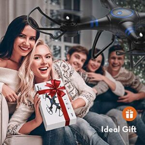 AKASO A31 Drone with Camera WiFi 1080P FPV Live Video RC Quadcopter Drone for Beginners Adults Kids, Bright LED Light, Altitude Hold, Headless Mode – Easy to Fly Gift Toy for Boys and Girls