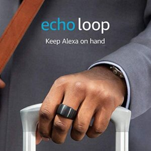 Echo Loop – Smart ring with Alexa – A Day 1 Editions product –  Extra Large