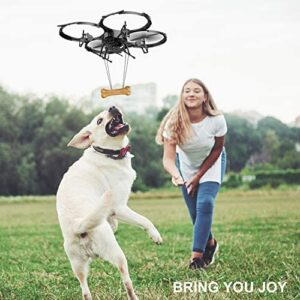 Drones with Camera-DBPOWER U818A Discovery FPV 720P HD WiFi Camera Drone,RC Quadcopters UAV for Beginners & Kids/Adults with 2 Batteries,Altitude Hold,Headless Mode,3D Flips,One Key Take Off/Landing