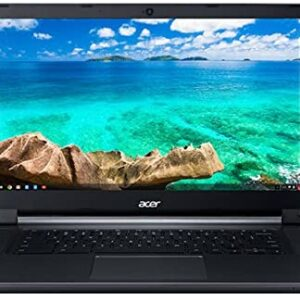 (Renewed) Acer Flagship CB3-532 15.6 inches HD Premium Chromebook – Intel Dual-Core Celeron N3060 up to 2.48GH.z, 2GB RAM, 16GB SSD, Wireless AC, HDMI, USB 3.0, Webcam, Chrome OS