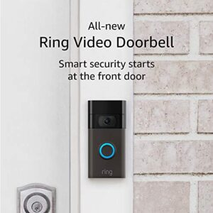 All-new Ring Video Doorbell (2nd Gen) – 1080p HD video, improved motion detection, easy installation – Venetian Bronze