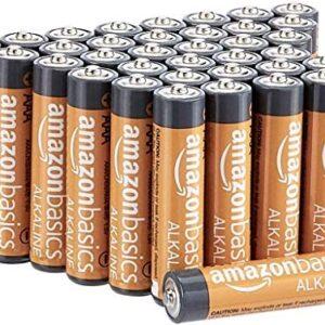 AmazonBasics AAA 1.5 Volt Performance Alkaline Batteries – Pack of 36