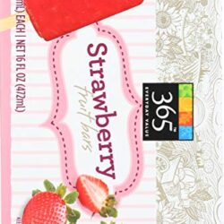 365 Everyday Value, Strawberry Fruit Bars, 4 ct, (Frozen)