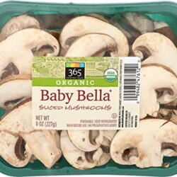 365 Everyday Value, Organic Baby Bella Sliced Mushrooms, 8 oz