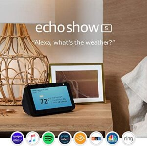 Echo Show 5 – stay connected and in touch with Alexa – Charcoal