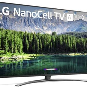 LG Nano 8 Series 75SM8670PUA TV, 75″ 4K UHD Smart LED NanoCell, 2019 model