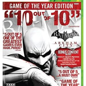 Batman: Arkham City – Game of The Year Edition