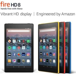 Fire HD 8 Tablet (8″ HD Display, 16 GB) – Yellow (Previous Generation – 8th)