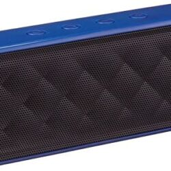 AmazonBasics Portable Wireless, 2.1 Bluetooth Speaker, Blue