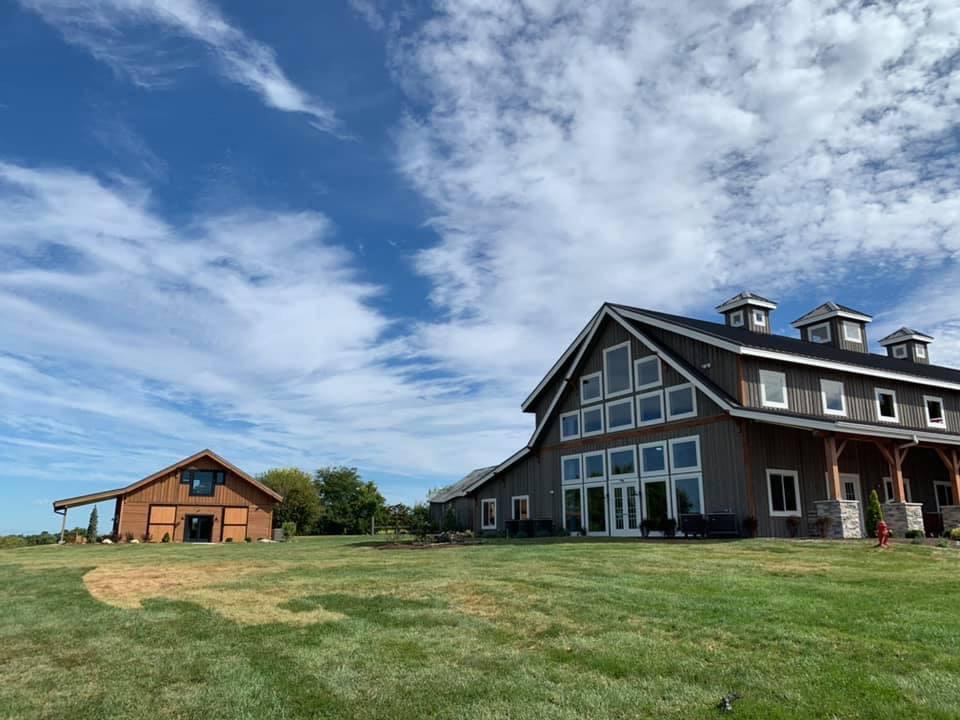 Main and Grooms Barns