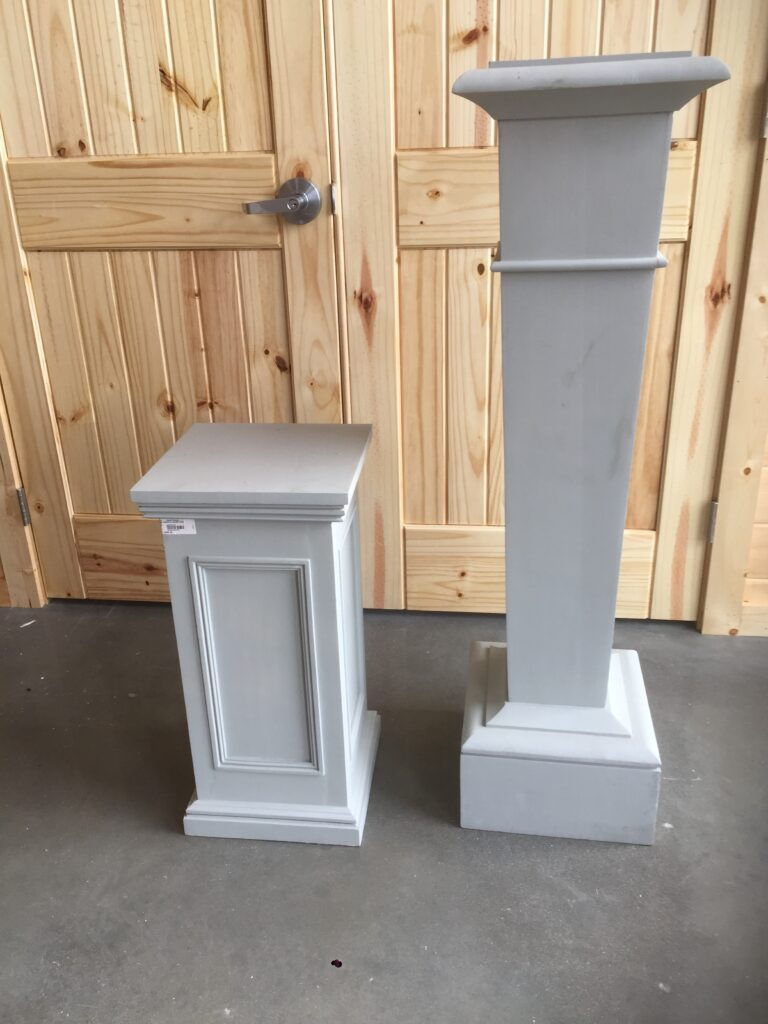 Short ($20) and Tall ($35) Columns