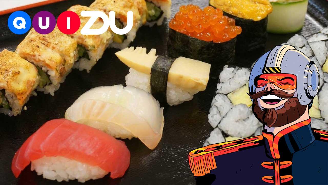 ¿Qué tanto sabes del sushi?
