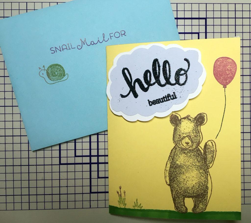 Hello Bear (outside)