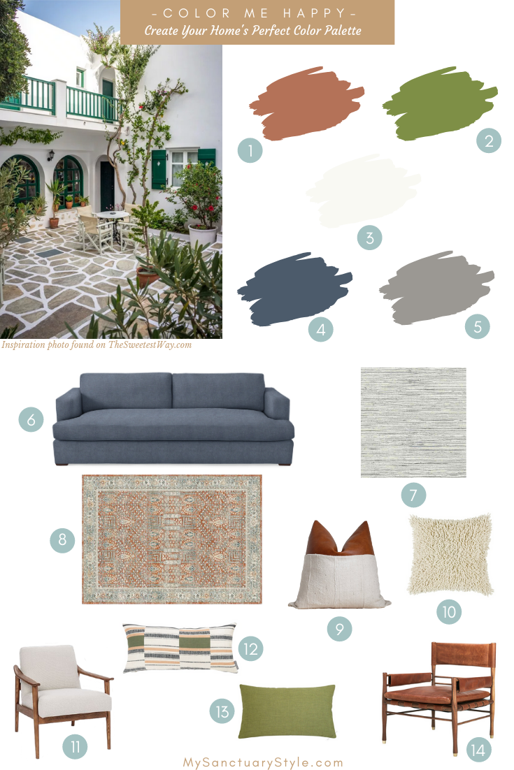 How to Create Your Home's Perfect Decorating Color Palette