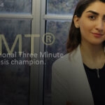 A Master's student in the Department of Chemistry and Biochemistry at Concordia University has been named Canada's Three Minute Thesis (3MT) champion.