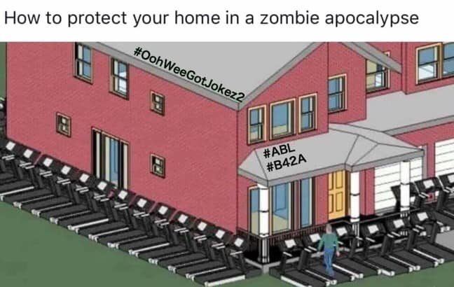 Protecting your home from the ZOMBIE APOCALYPSE - bizzbinable on zombie apocalypse interior design, zombie apocalypse graphic design, panic room design,