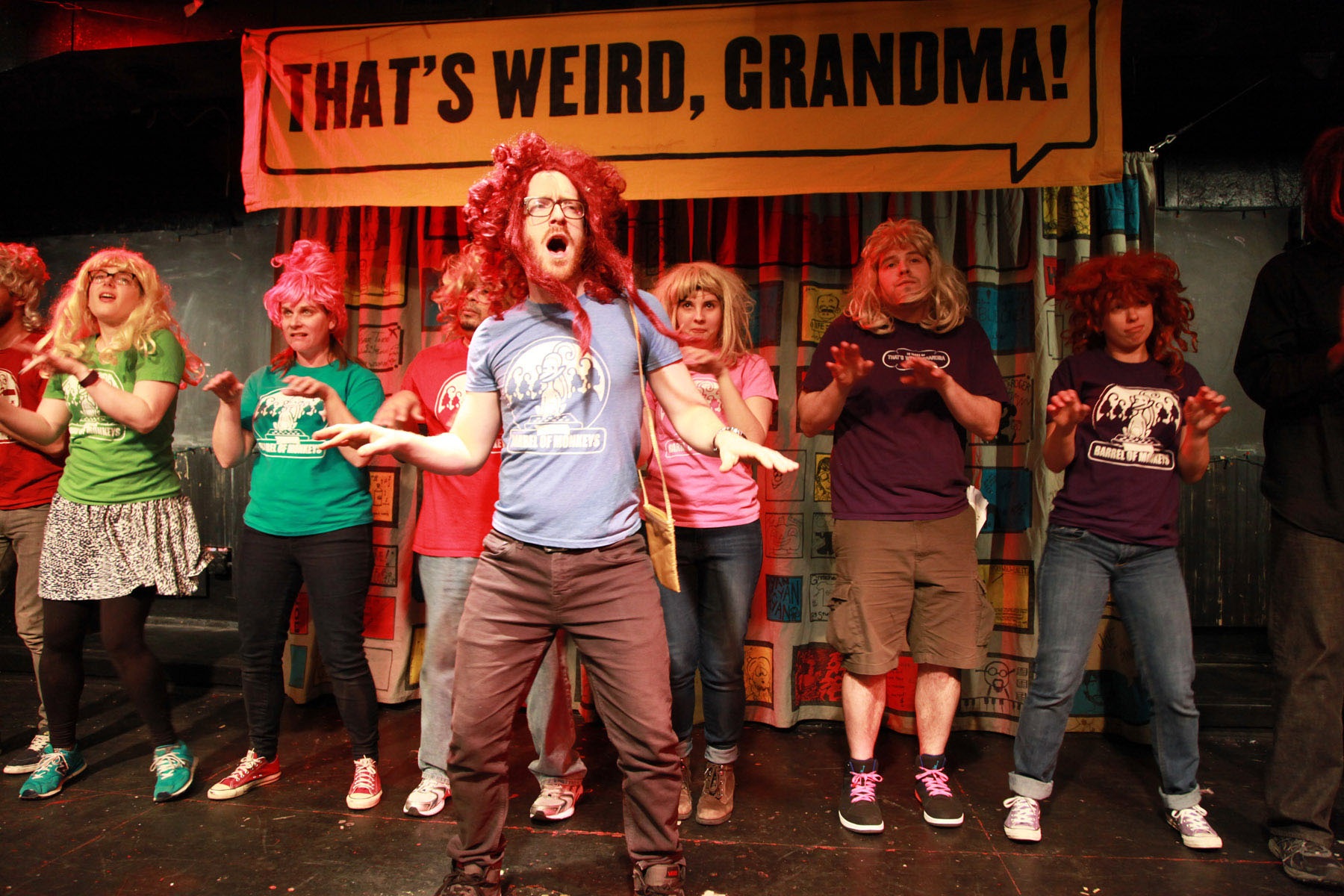 THAT'S WEIRD, GRANDMA: THE MUSICAL – a Fantastic Voyage of Gratifying Fun