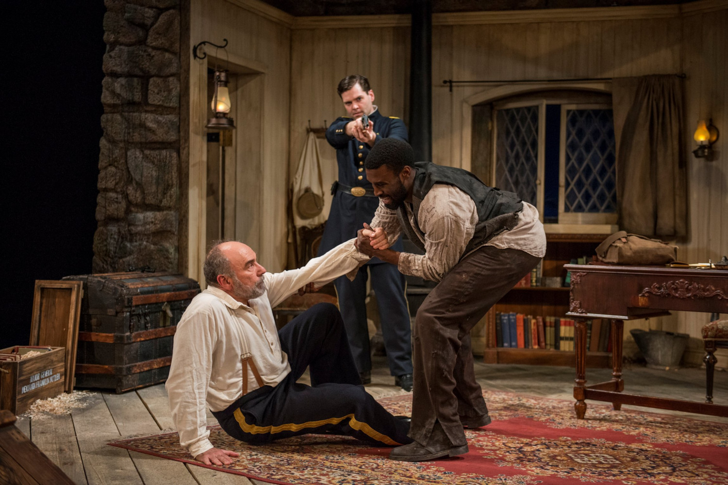BUTLER Stirs Up Ugliness of America in Civil War Comedy