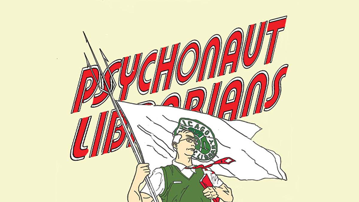 Inside PSYCHONAUT LIBRARIANS Part One: Welcome to PSY LI