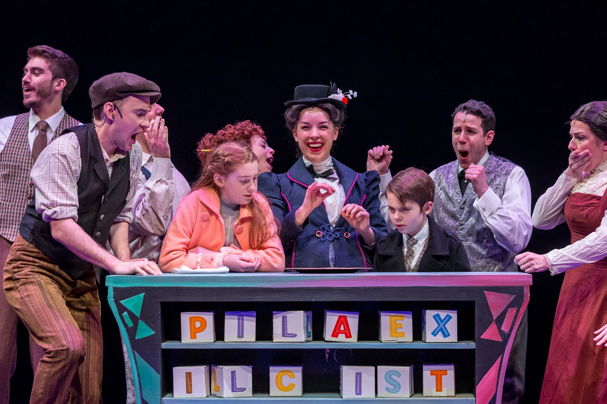 MARY POPPINS Sparkles on Southport