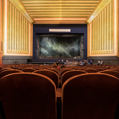 Joffrey Ballet Leaves Auditorium for Lyric Opera House