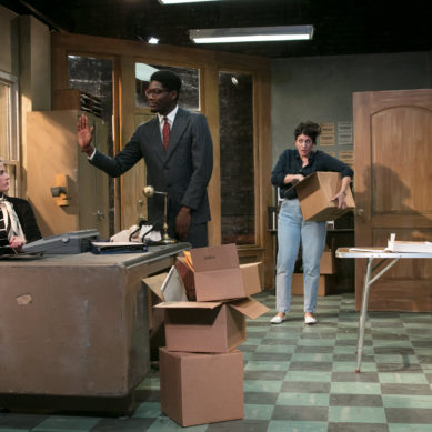 """Review:  """"1980 (Or Why I'm Voting for John Anderson)"""" at Jackalope Theatre"""