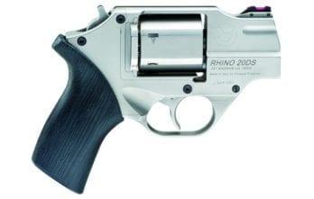 CHIAPPA RHINO 2″ 200DS Revolver | Nickel | .357 Magnum/.38 Special (340.218)